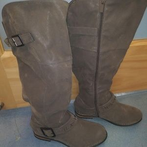 Torrid Wide Calf Suede Boots
